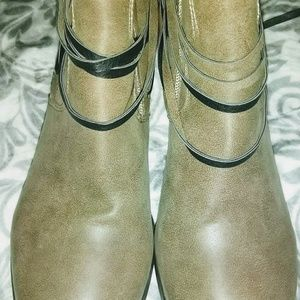 unbranded Shoes - Bohemian Taupe Boots